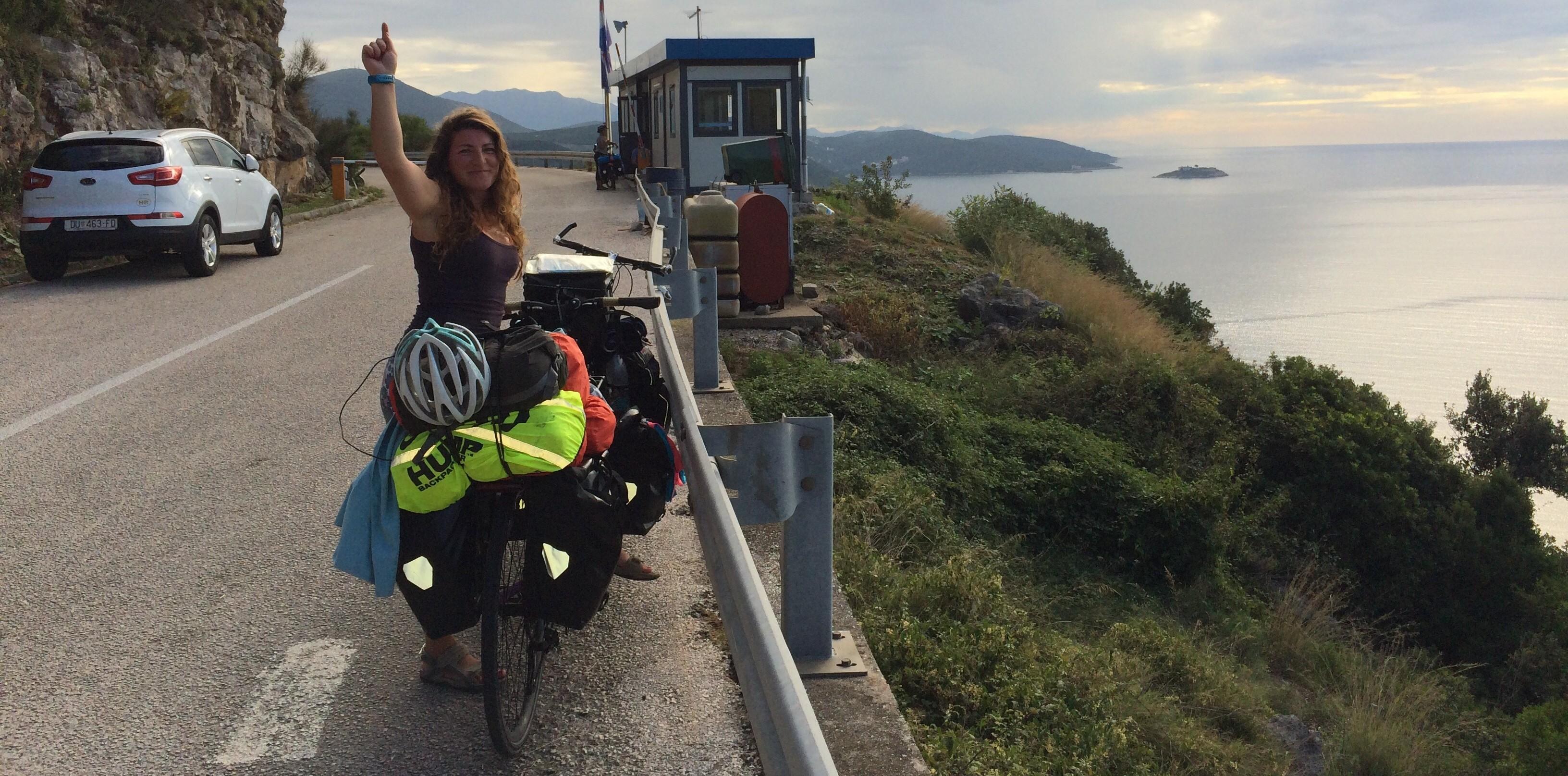 Crossing the Border of Croatia into Montenegro