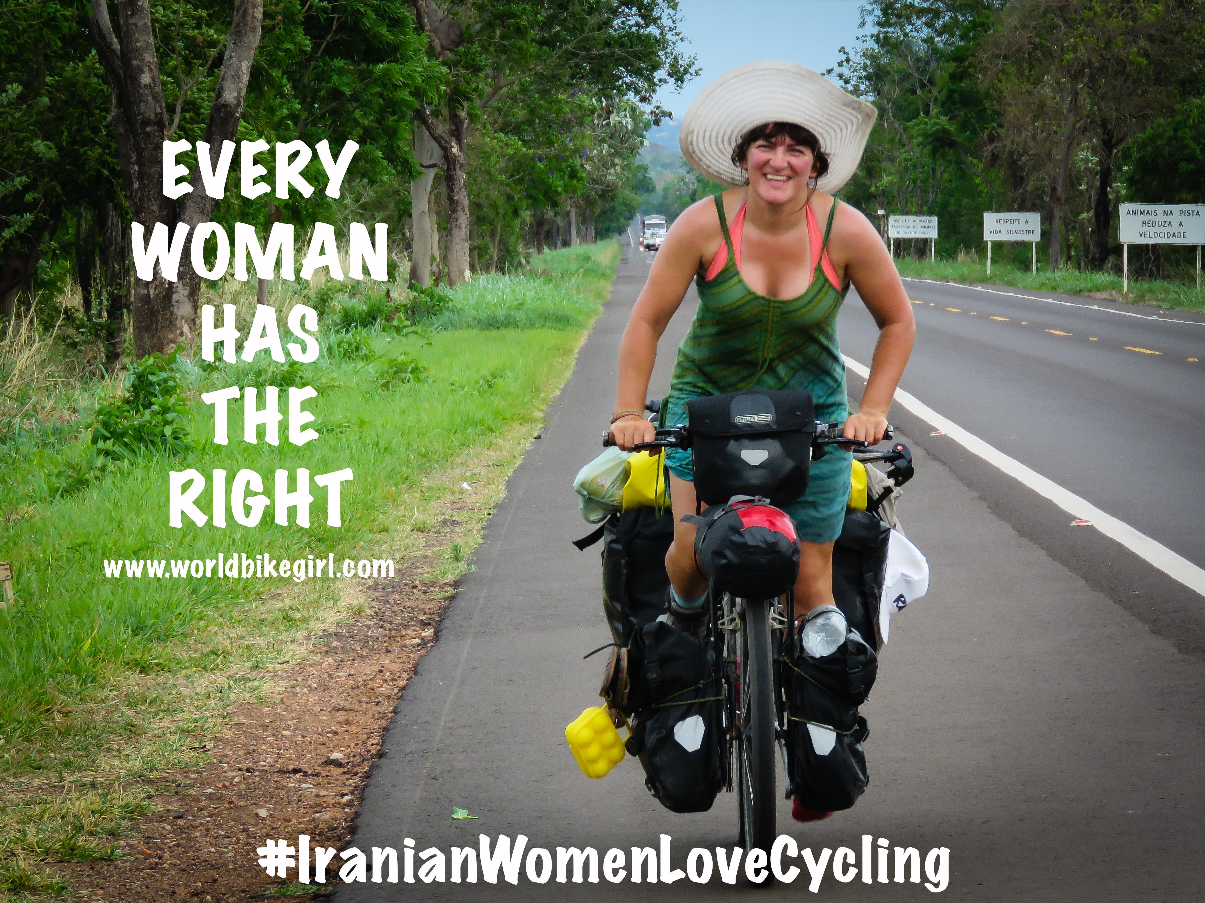 Iranian Women Love Cycling