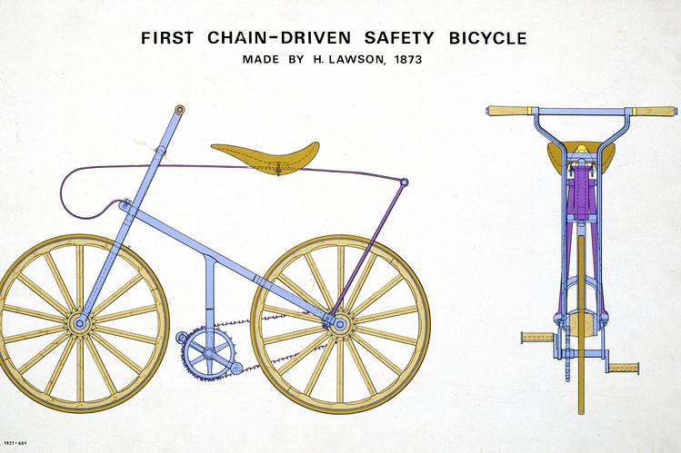first chain bicycle