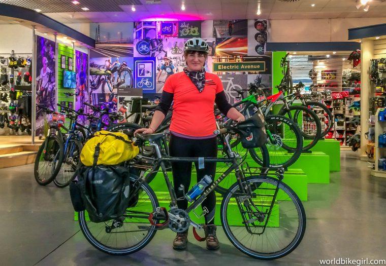 Me, bike in Dales